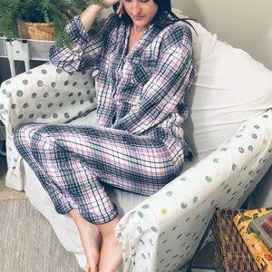 Victoria's Secret Plaid Flannel Dream Pajama Set